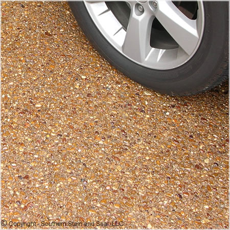 Decorative Pebble Pathways - Driveway - PebbleKote