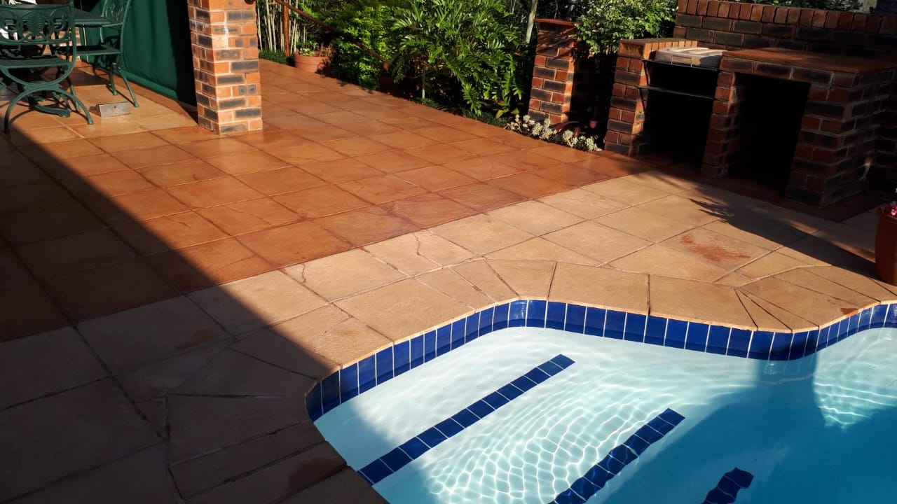 Waterproofing for Tiles - Tinted WaterKote on Pool Tiles