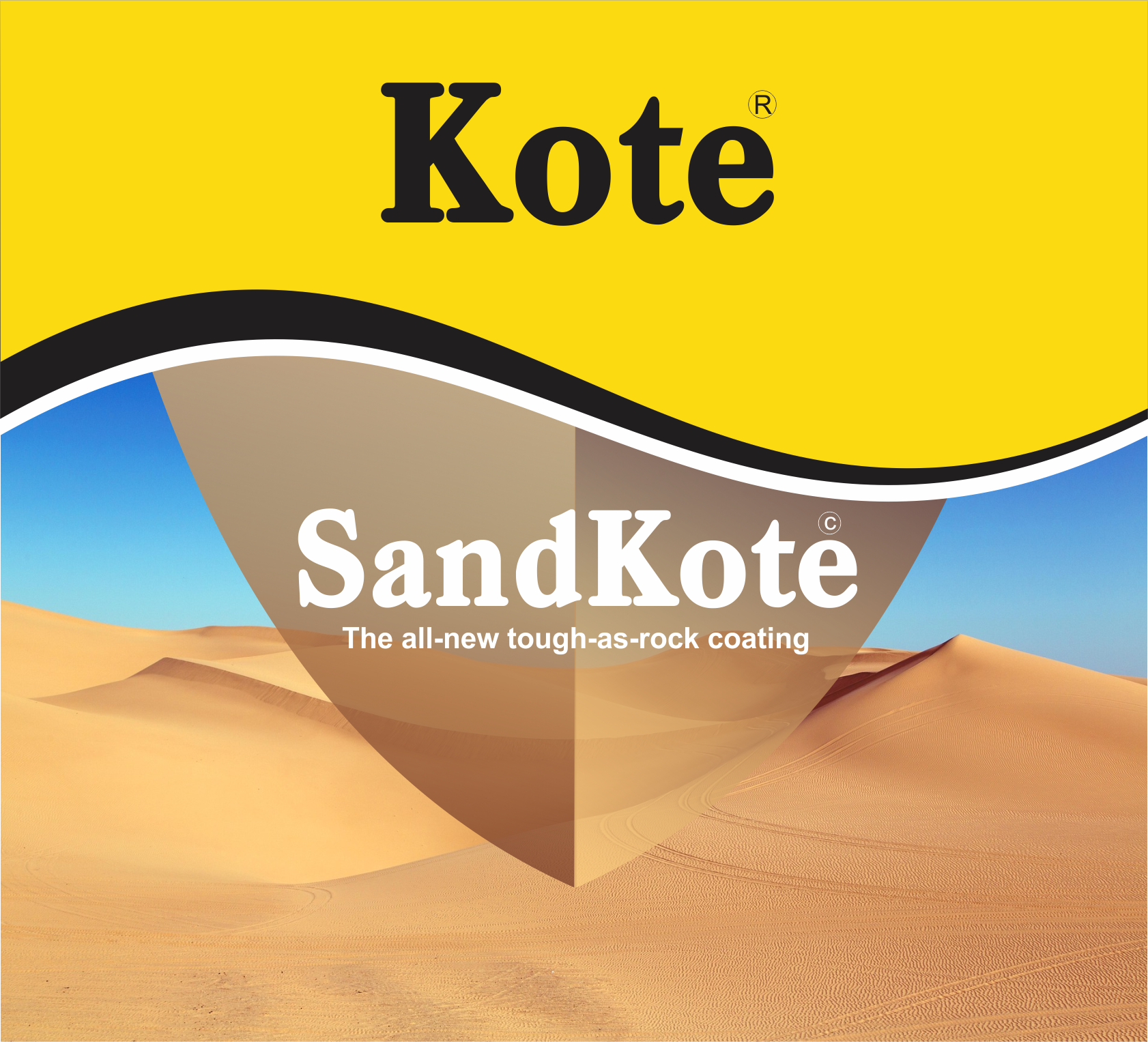 SandKote Label