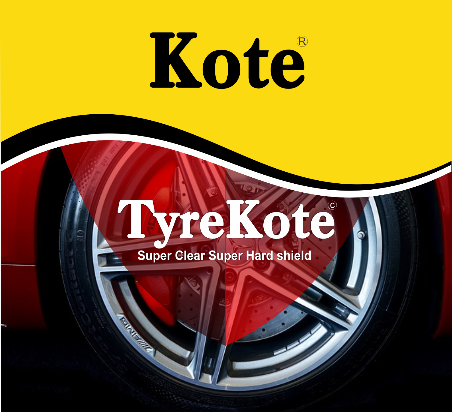 TyreKote Label