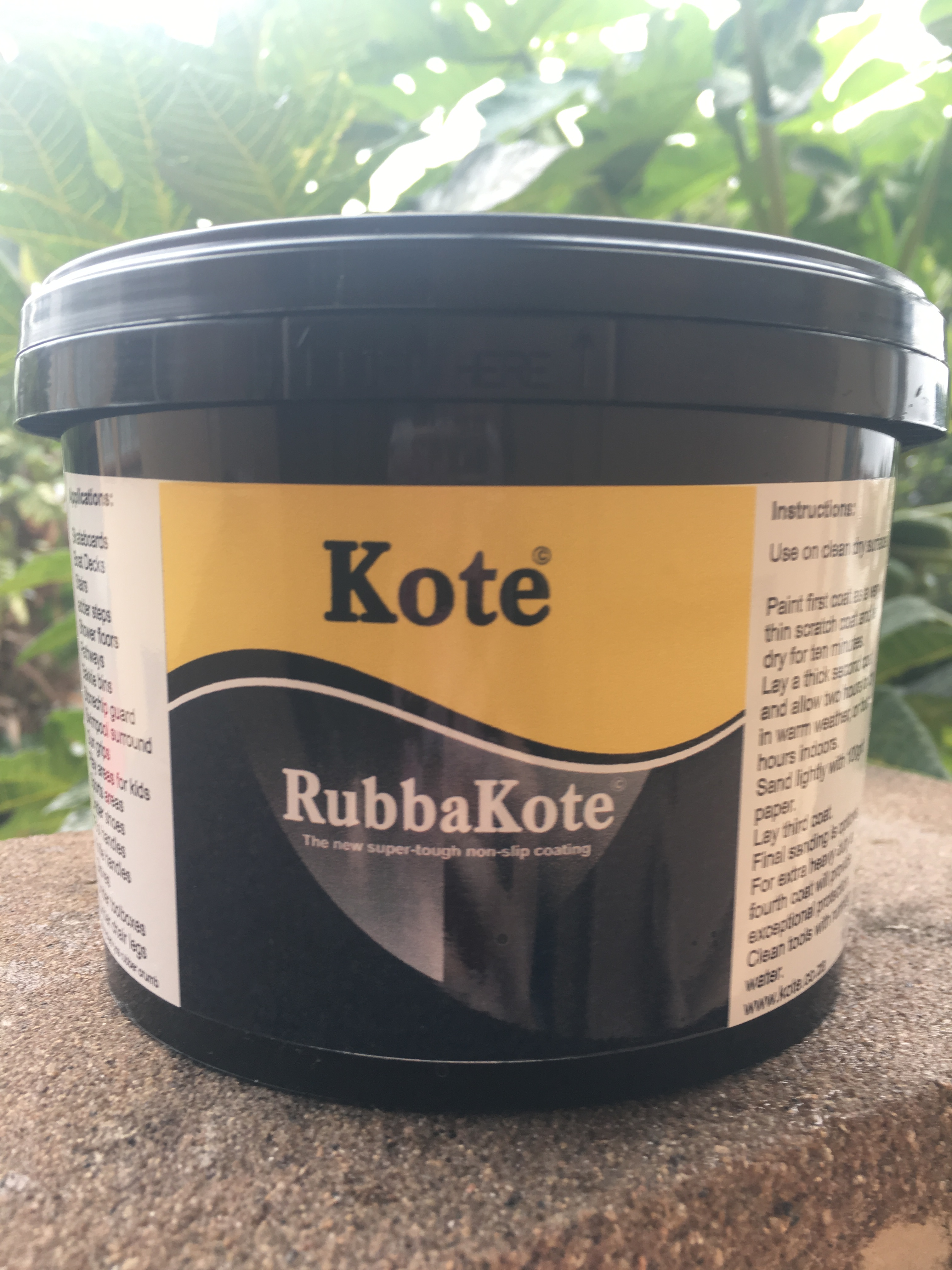 Rubber Non Slip Paint