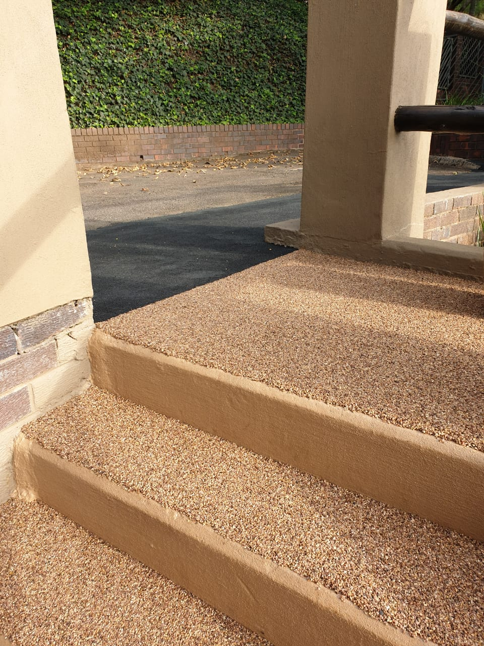 Pebble Stairs