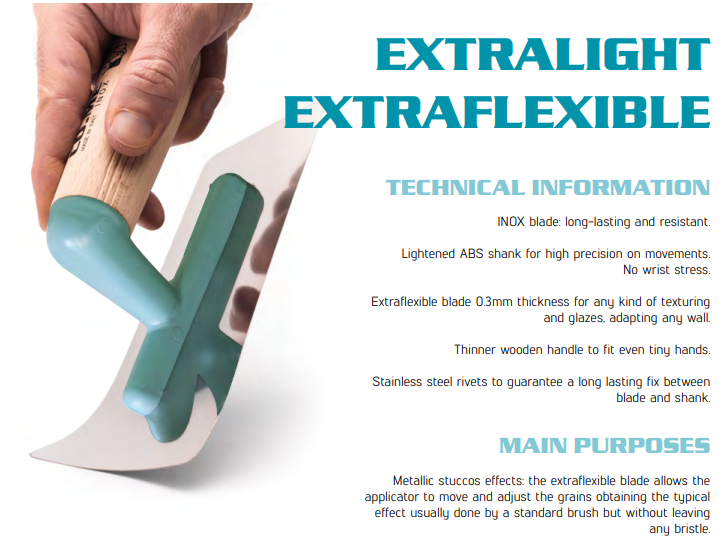 Flexible Trowel