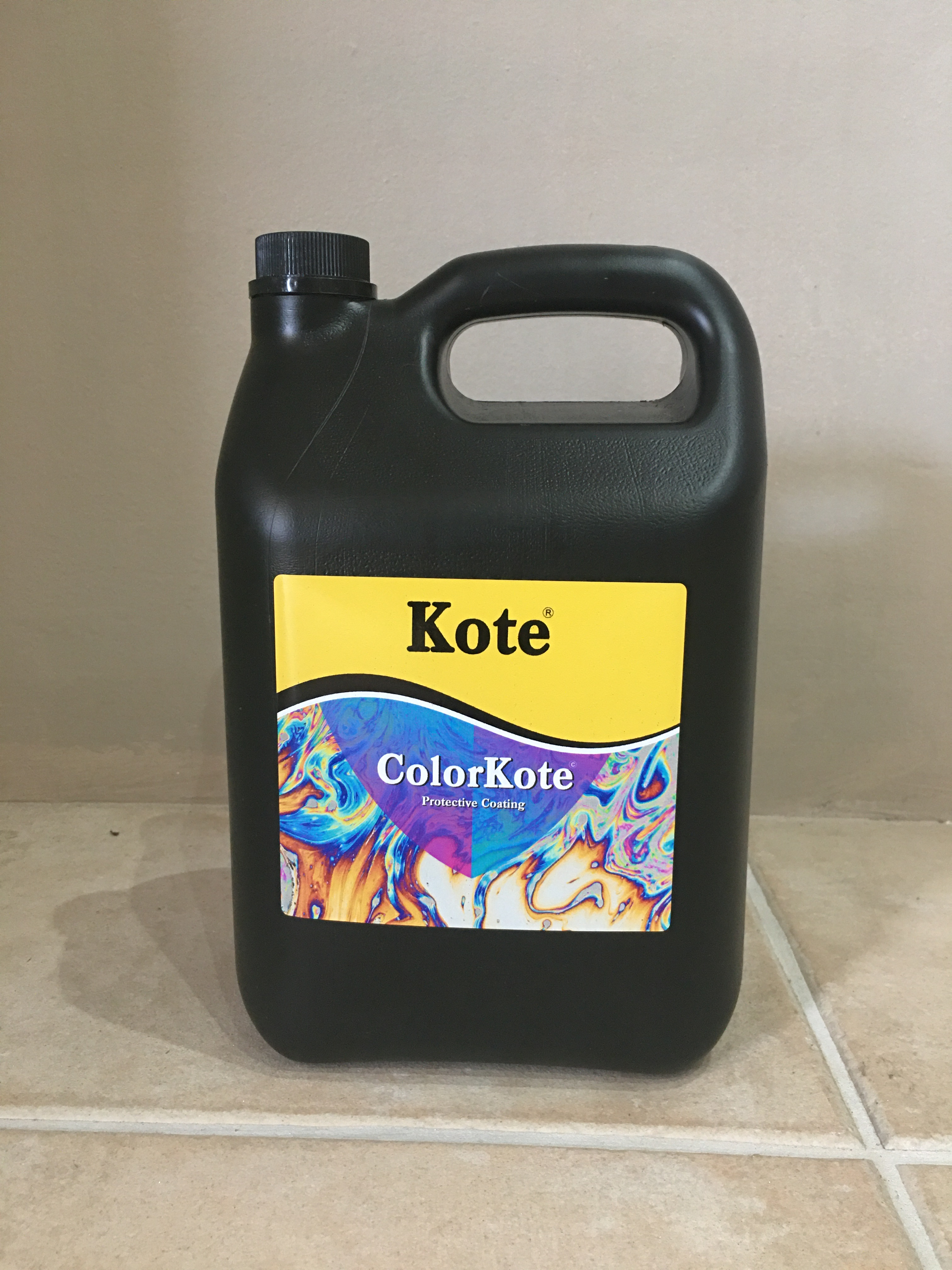ColorKote - Tinted Waterproofing Sealer