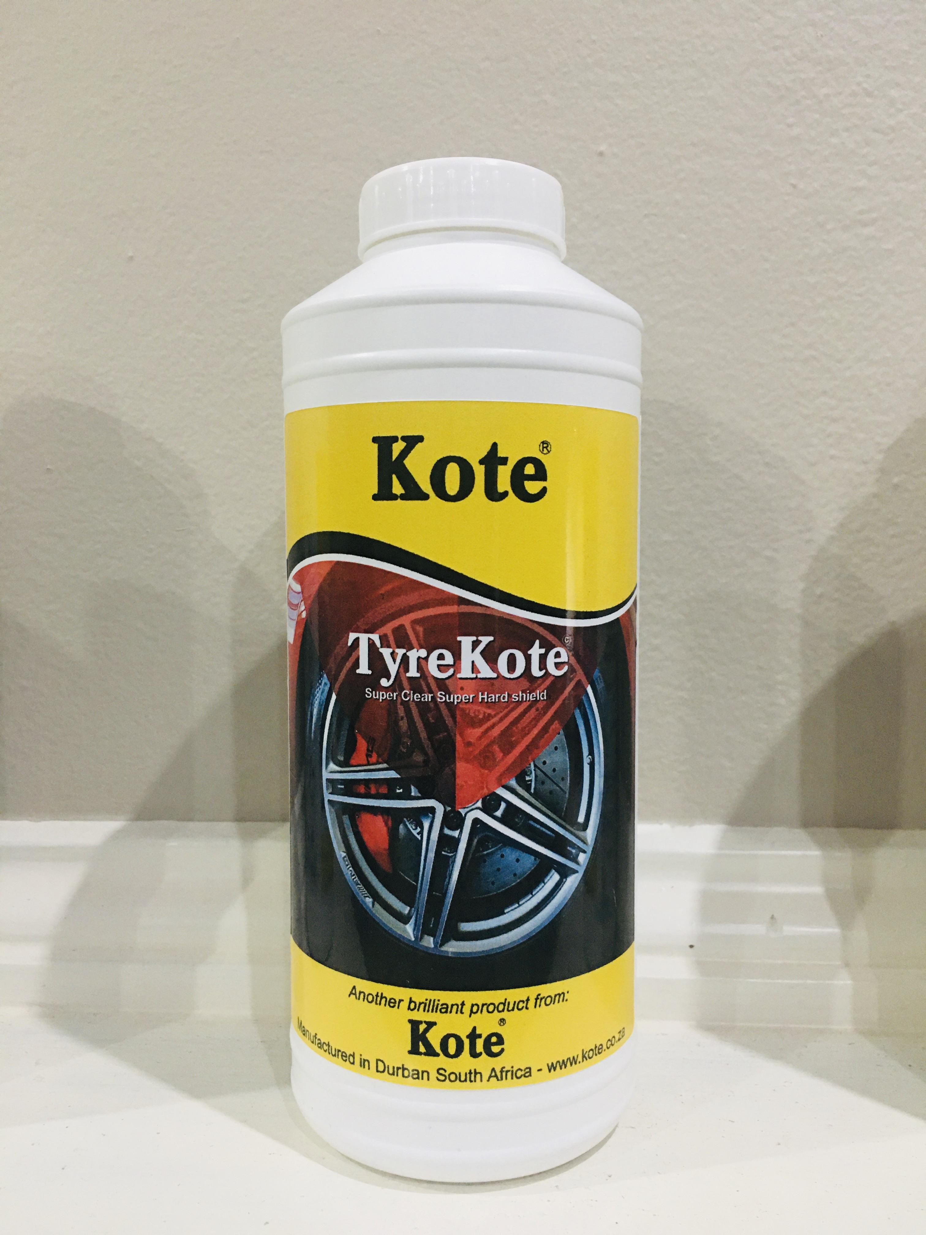 TyreKote - Protective Tyre Coating