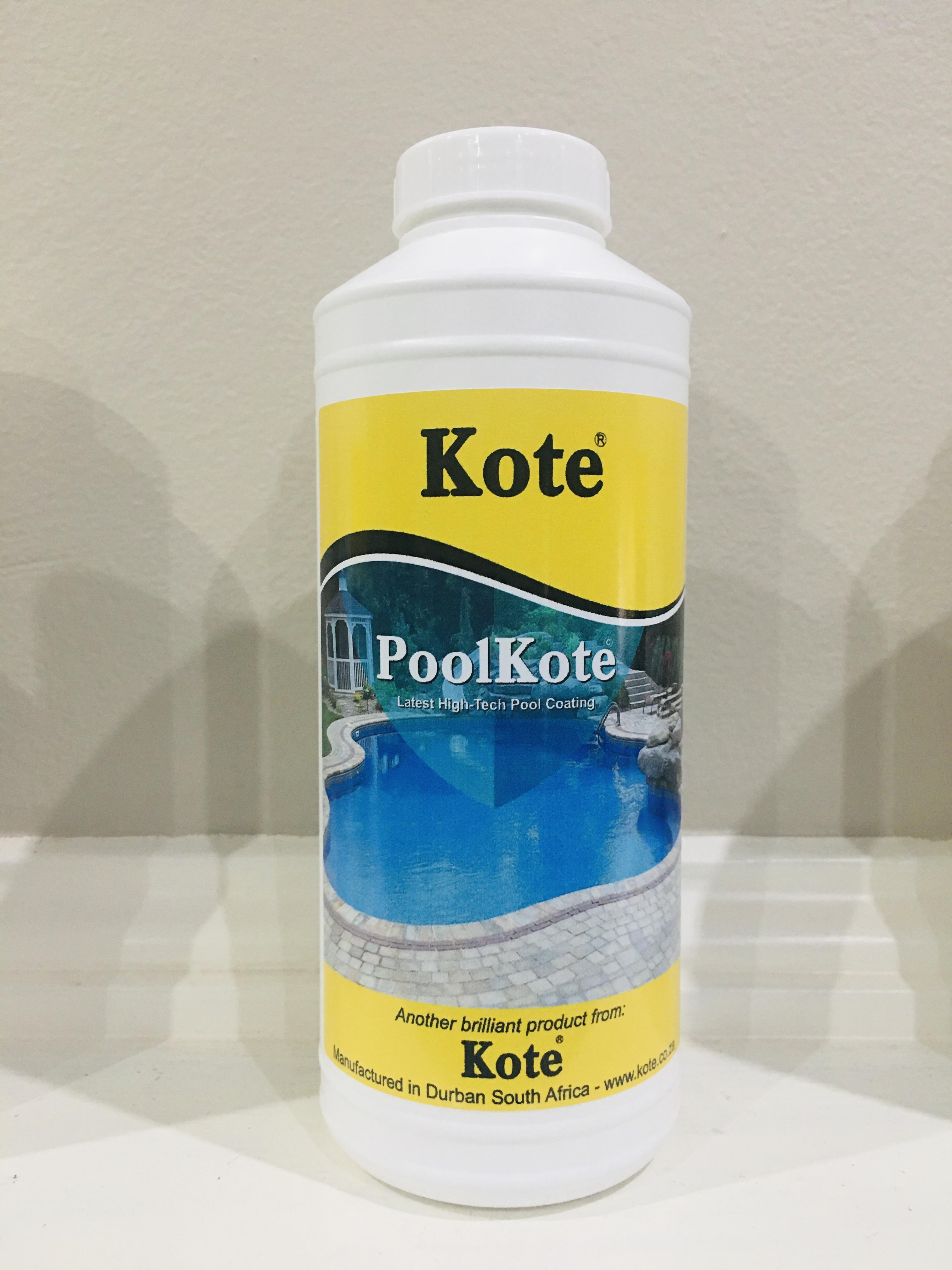 Pool Coating - PoolKote