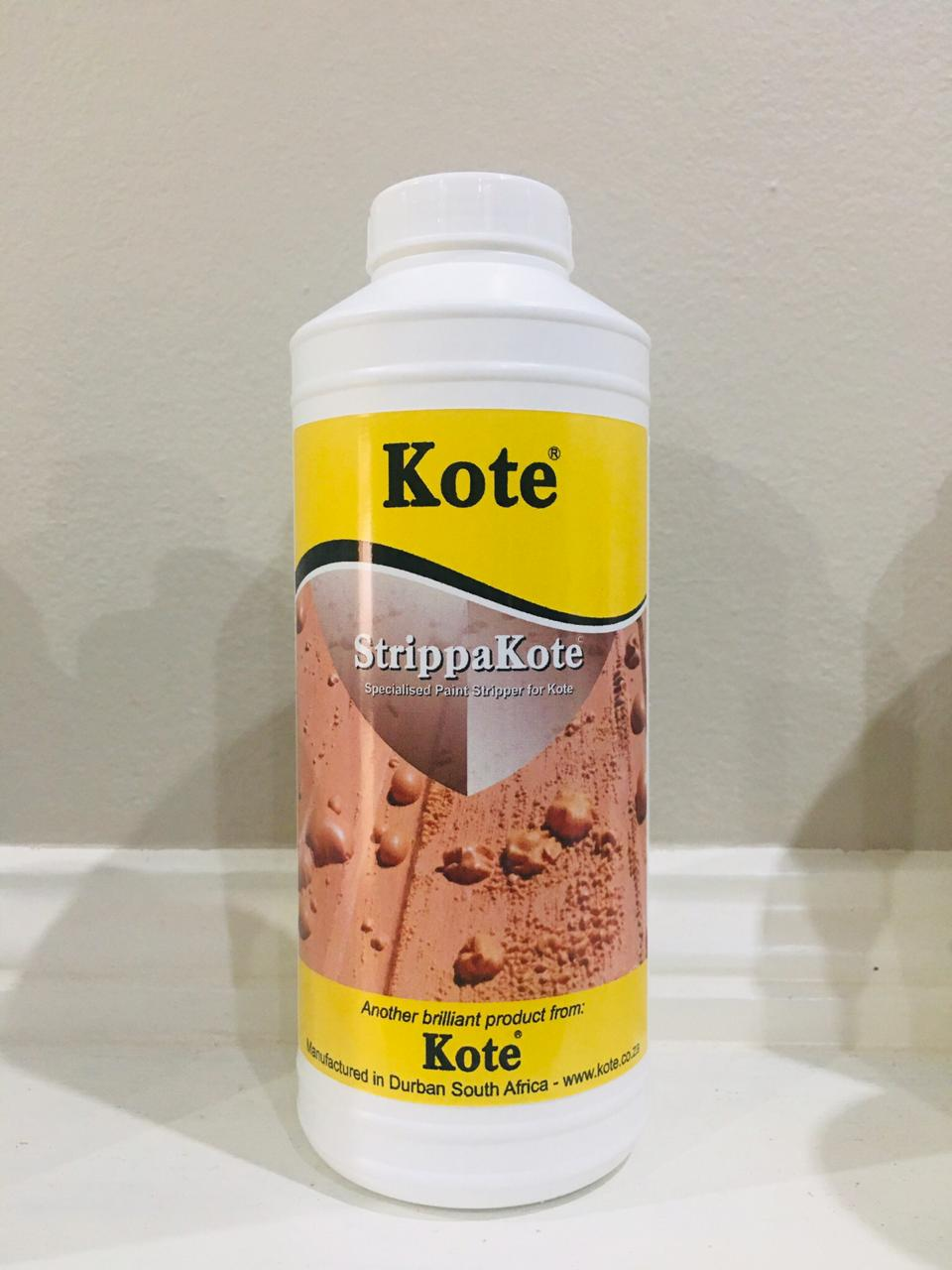 StrippaKote - the only stripper that will remove a Kote Product once applied