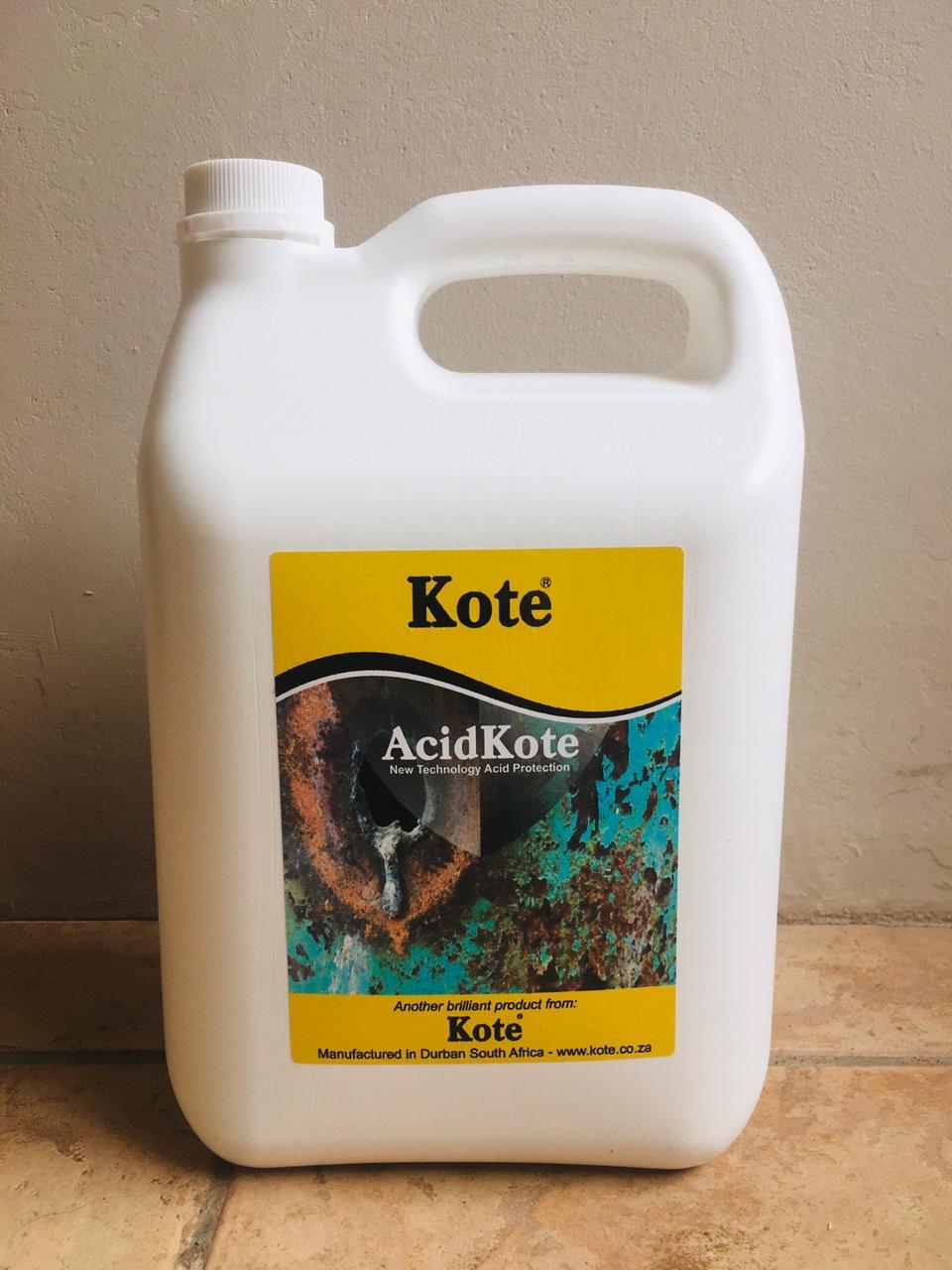 Anti Acid Protection Coating - AcidKote