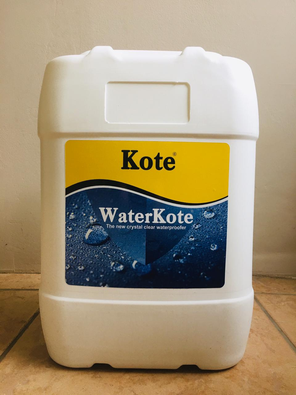 WaterKote - Clear Protective Coating - Waterproofing - Waterproof Coating - Waterproof Roof Coating - South Africa