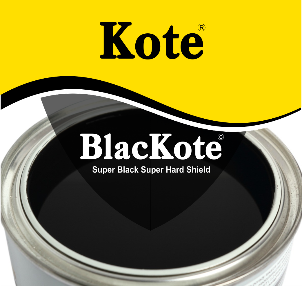BlacKote - Black paint - Black protective coating - Durban - South Africa