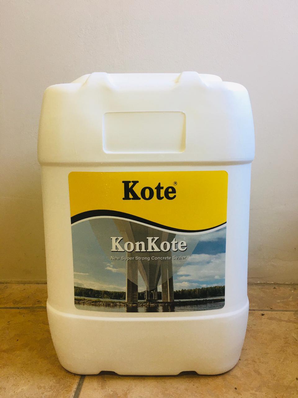 KonKote - Concrete Sealer - Durban - South Africa