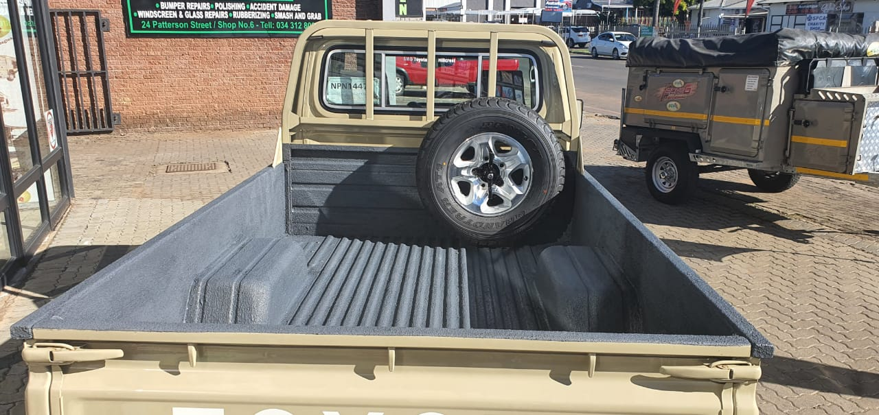 Rubberised Bakkie Lining - RubbaKote - Rubber Coating - Durban - South Africa
